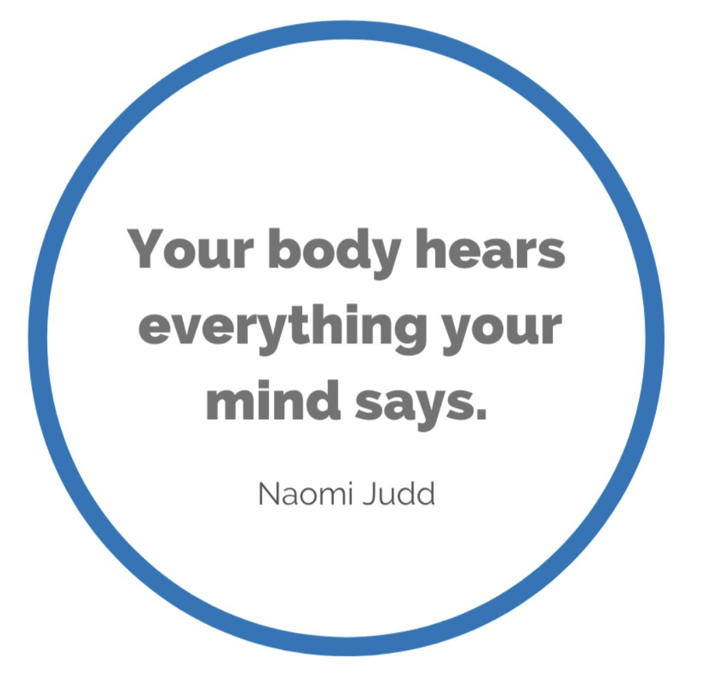 CM Learning - your body hears everything your mind says