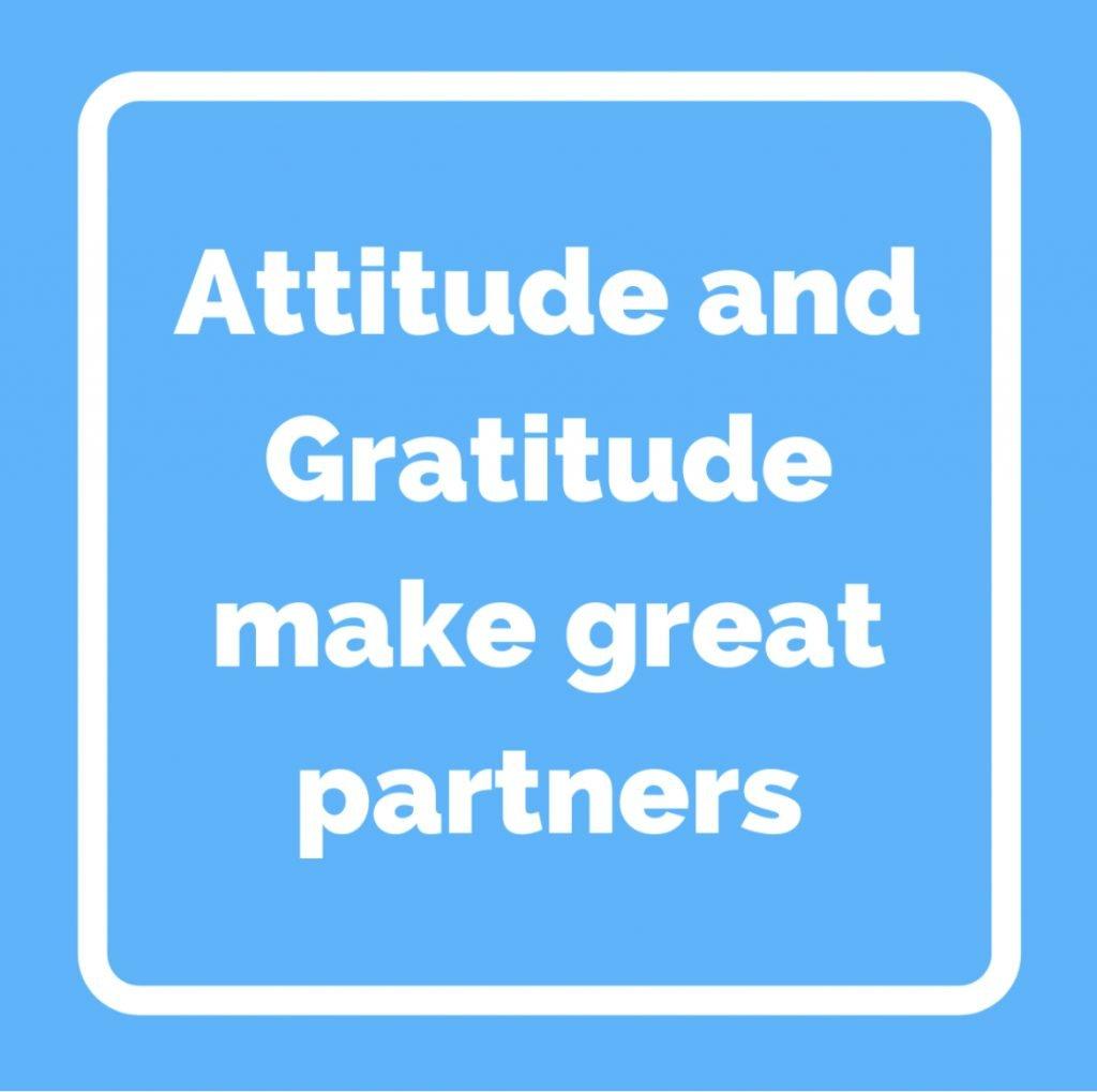 CM Learning - develop an attitude of gratitude