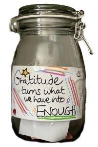 CM Learning - gratitude jar