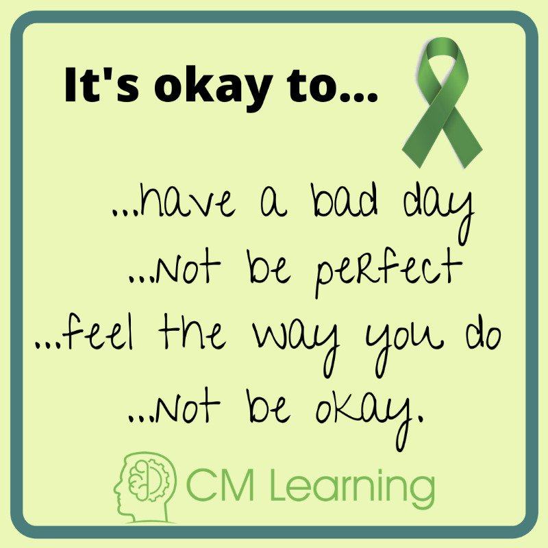 CM Learning - mental health quote