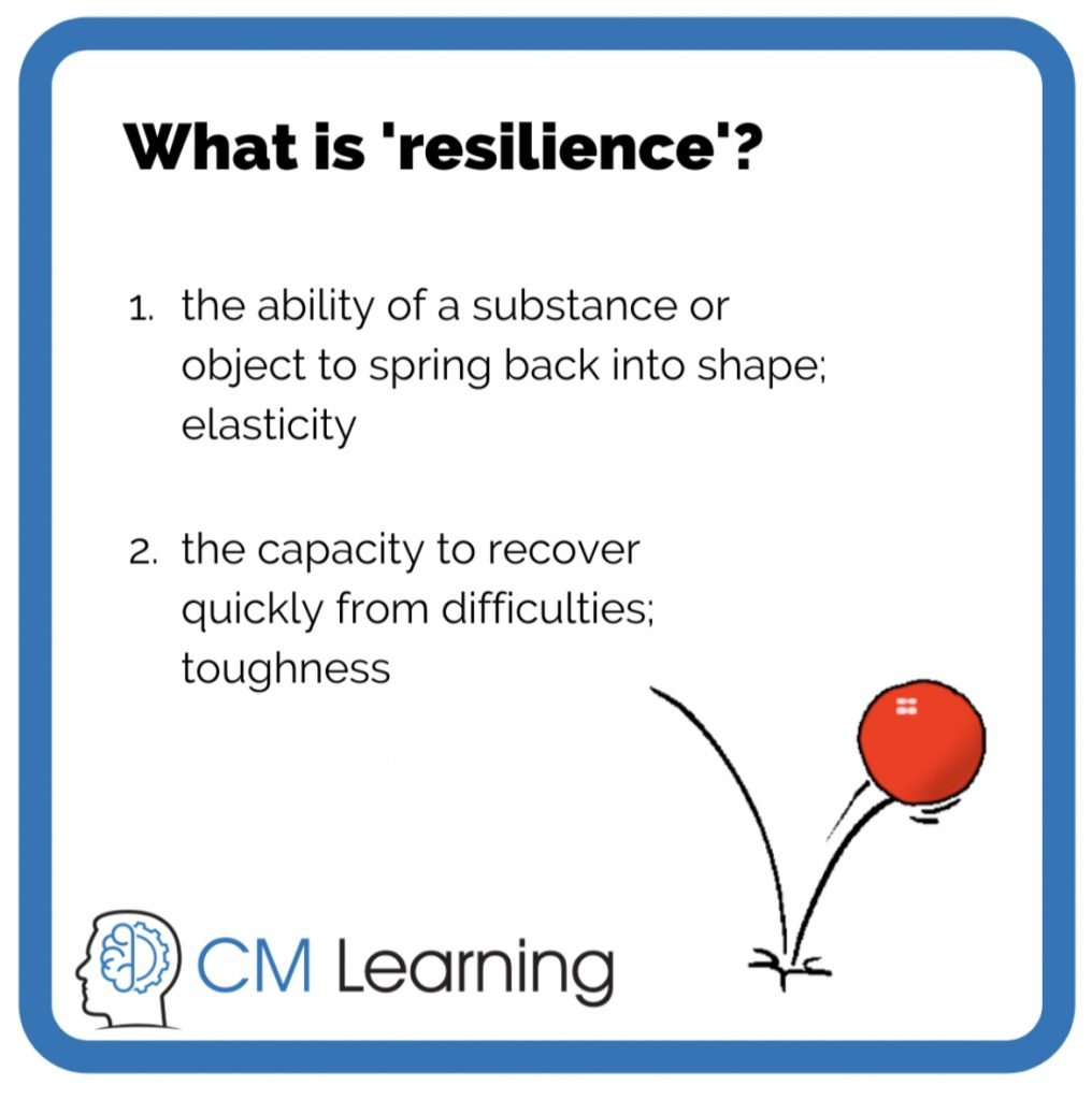 CM Learning - what is resilience?