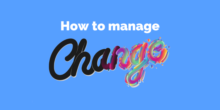 CM Learning - how to manage change