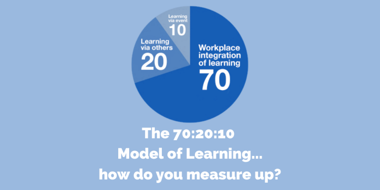 CM Learning - the 70_20_10 model