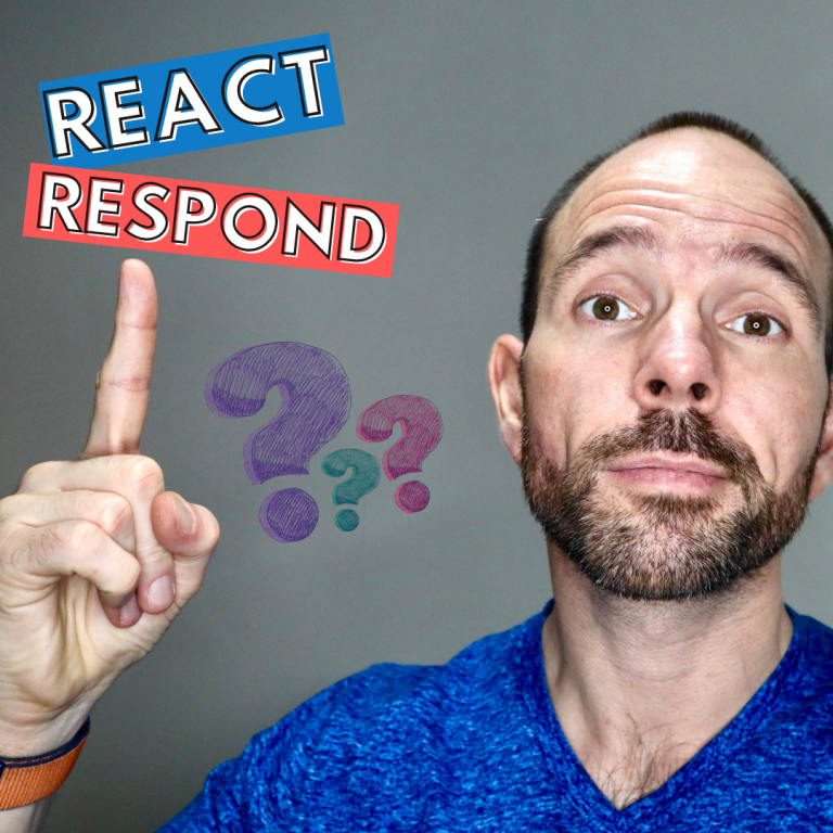 LEARNING TO RESPOND NOT REACT TRIGGER MANAGEMENT