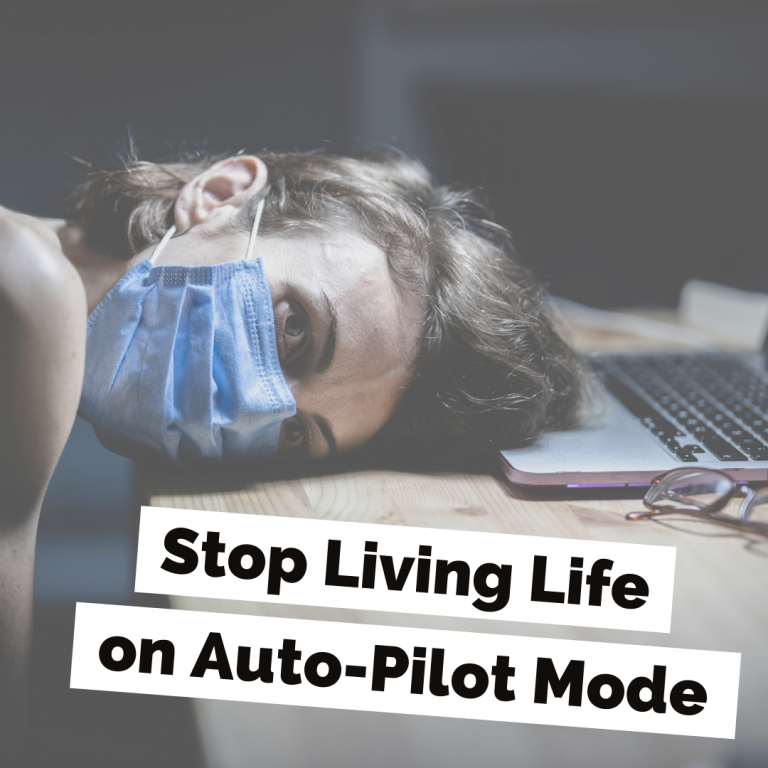 CM Learning Blog | Stop Living Life on Auto-Pilot Mode